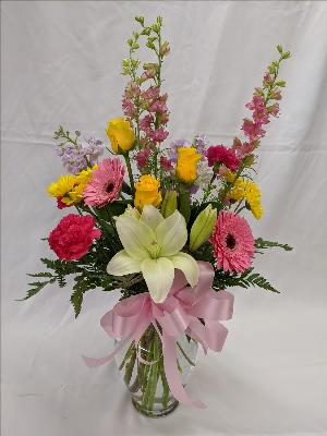Designer's choice # 1-mixed arrangement by Arrington Flowers, Your Rocky Mount, VA Florist