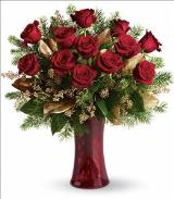 A Christmas Dozen by Arrington Flowers, Your Rocky Mount, VA Florist
