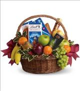 Fruits and Sweets Christmas Basket by Arrington Flowers, Your Rocky Mount, VA Florist