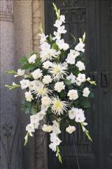 All-White Spray by Arrington Flowers, Your Rocky Mount, VA Florist