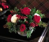 Rose & Carnation Rose Bowl by Arrington Flowers, Your Rocky Mount, VA Florist