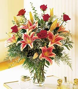 elegant christmas arrangement by Arrington Flowers, Your Rocky Mount, VA Florist