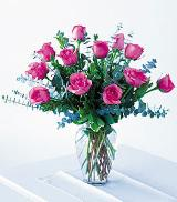 Mothers Pink Roses by Arrington Flowers, Your Rocky Mount, VA Florist