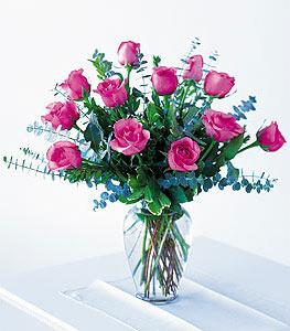 Mother's Pink Roses by Arrington Flowers, Your Rocky Mount, VA Florist