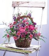Basket of Blossoms by Arrington Flowers, Your Rocky Mount, VA Florist