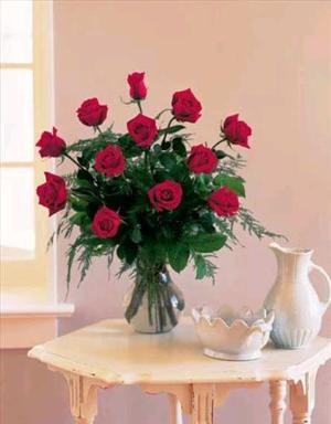 One Dozen Red Roses by Arrington Flowers, Your Rocky Mount, VA Florist