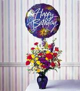 Birthday Fireworks by Arrington Flowers, Your Rocky Mount, VA Florist