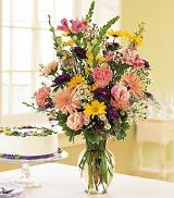 Birthday Pastels by Arrington Flowers, Your Rocky Mount, VA Florist