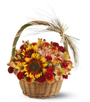 Harvest Basket by Arrington Flowers, Your Rocky Mount, VA Florist